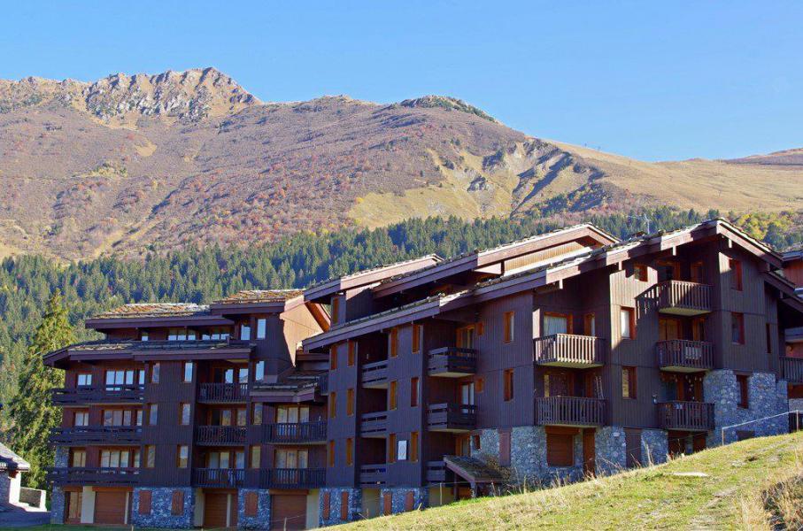 Wakacje w górach La Résidence le Cristallin - Valmorel - Na zewnątrz latem