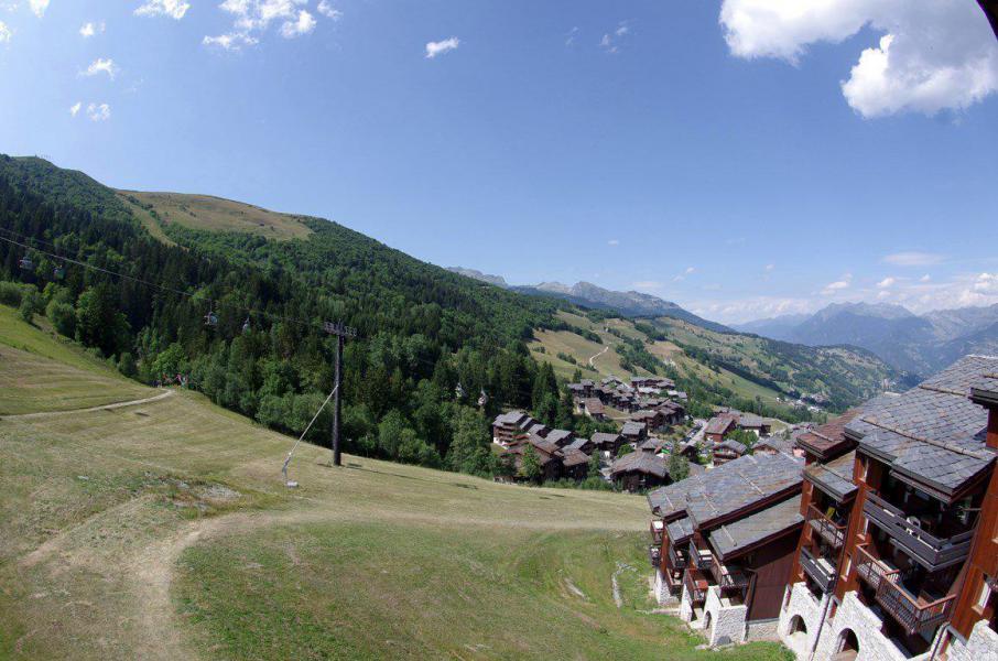 Wakacje w górach Studio 2 osoby (G312) - La Résidence le Cristallin - Valmorel - Na zewnątrz latem