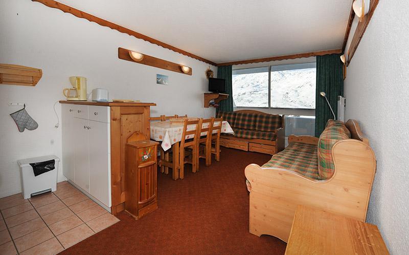 Urlaub in den Bergen 2 Zimmer Maisonettewohnung für 5 Personen (925) - La Résidence le Danchet - Les Menuires - Wohnzimmer