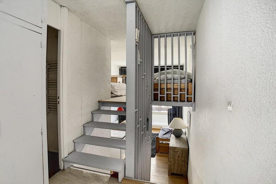 Urlaub in den Bergen Wohnung 2 Mezzanine Zimmer 6 Leute (1025) - La Résidence le Danchet - Les Menuires - Balkon