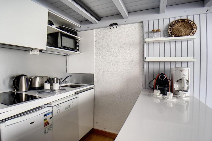 Urlaub in den Bergen Wohnung 2 Mezzanine Zimmer 6 Leute (1025) - La Résidence le Danchet - Les Menuires - Schlafzimmer