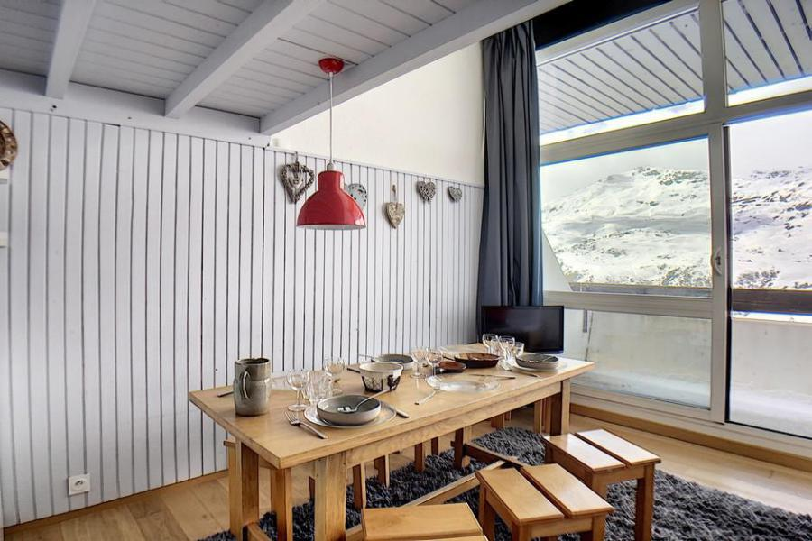 Urlaub in den Bergen Wohnung 2 Mezzanine Zimmer 6 Leute (1025) - La Résidence le Danchet - Les Menuires - Wohnzimmer