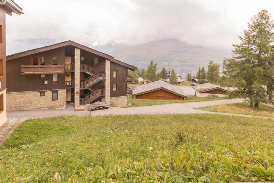Vakantie in de bergen Studio 3 personen (2) - La Résidence le Dé 2 - Montchavin La Plagne - Buiten zomer