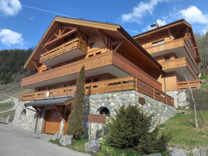 Location au ski La Résidence le Grand Duc - Méribel - Extérieur été