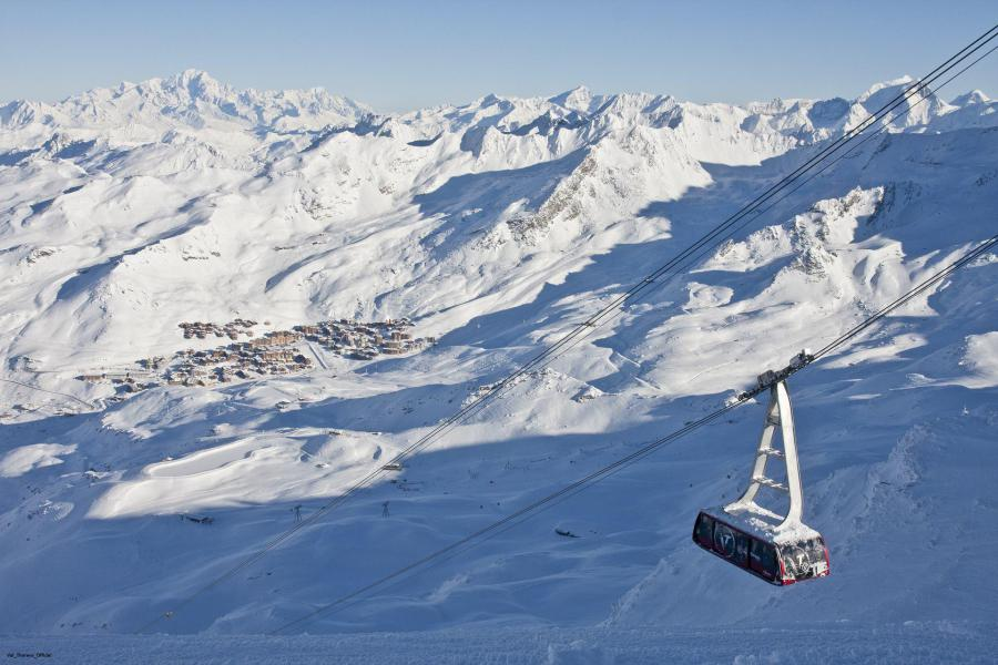 Holiday in mountain resort La Résidence le Lac du Lou - Val Thorens