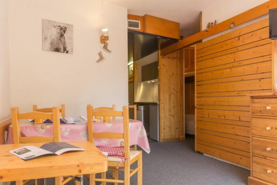 Holiday in mountain resort Studio sleeping corner 4 people (415) - La Résidence le Miravidi - Les Arcs - Sleeping area