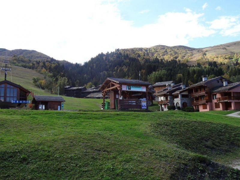 Wakacje w górach Apartament 2 pokojowy 4 osób (G401) - La Résidence le Morel - Valmorel - Na zewnątrz latem