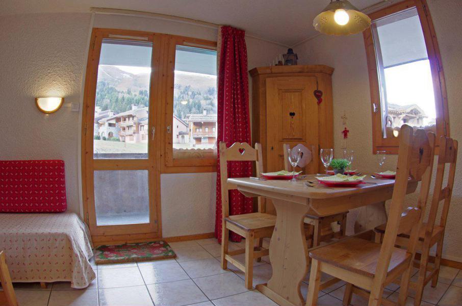 Wakacje w górach Apartament 2 pokojowy 4 osób (G401) - La Résidence le Morel - Valmorel - Pokój gościnny