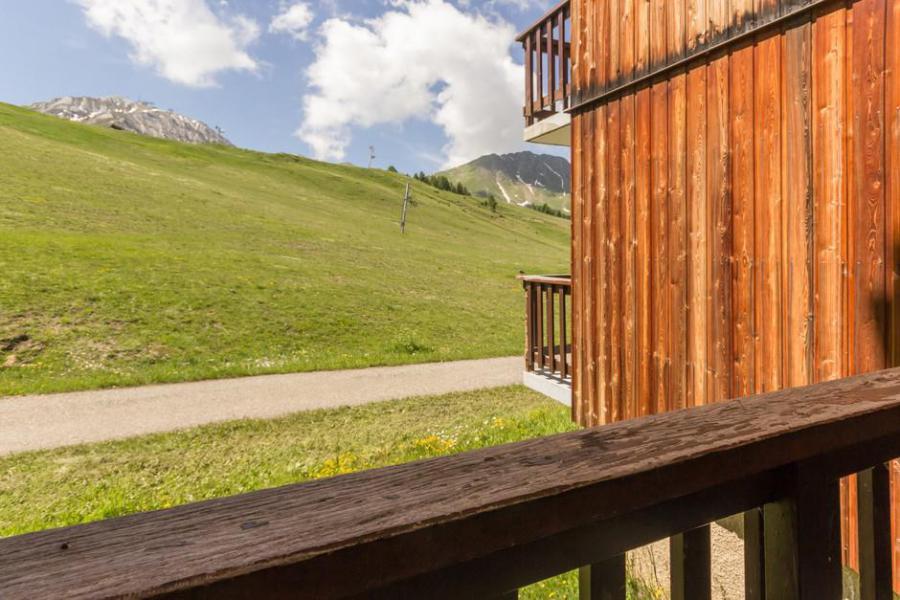 Holiday in mountain resort Studio 4 people (09) - La Résidence le Perce Neige - La Plagne - Summer outside