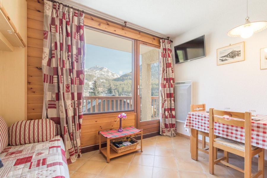 Holiday in mountain resort Studio sleeping corner 3 people (DUA101) - La Résidence le Picamont - Montgenèvre