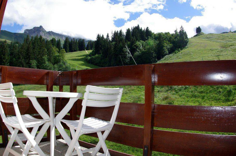 Wakacje w górach Apartament 2 pokojowy 5 osób (G099) - La Résidence le Prariond - Valmorel - Na zewnątrz latem