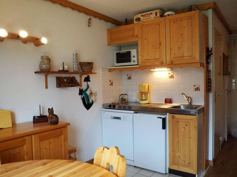 Holiday in mountain resort Studio cabin 4 people (321) - La Résidence le Sarvan - Les Menuires