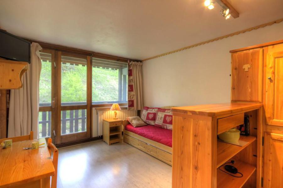 Holiday in mountain resort Studio 2 people (25) - La Résidence le Serro Torre - La Plagne - Window