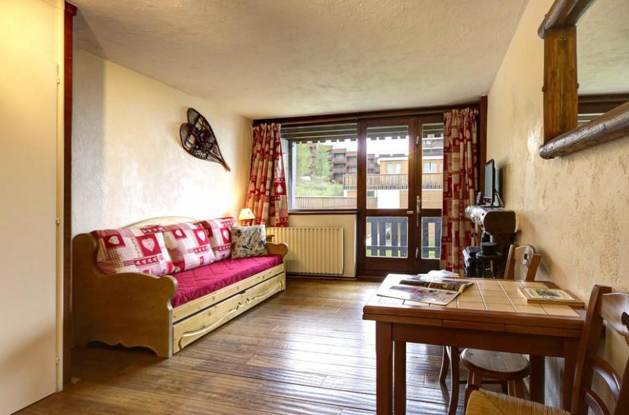 Holiday in mountain resort Studio 2 people (3) - La Résidence le Serro Torre - La Plagne - Living room