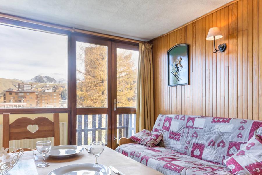 Vakantie in de bergen Studio verdeelbaar 4 personen (31) - La Résidence le Serro Torre - La Plagne - Woonkamer