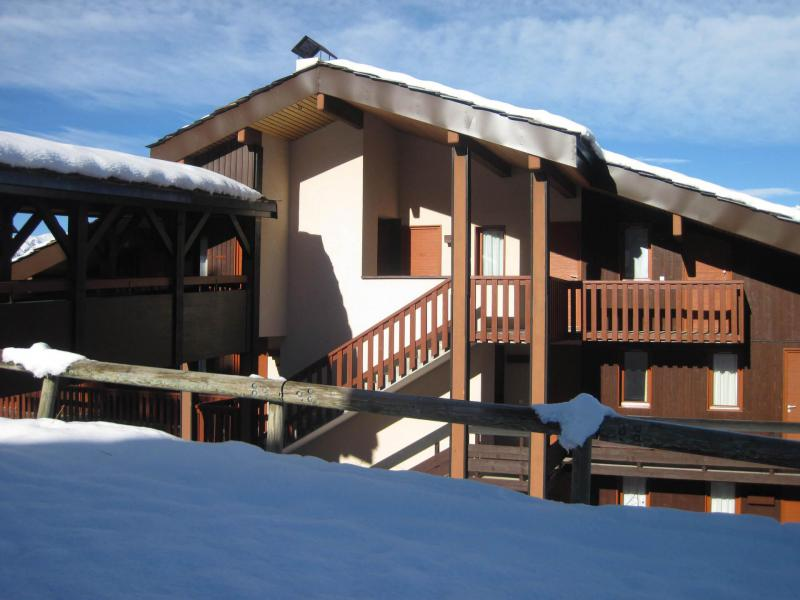 Holiday in mountain resort La Résidence le Sextant - Montchavin La Plagne - Summer outside