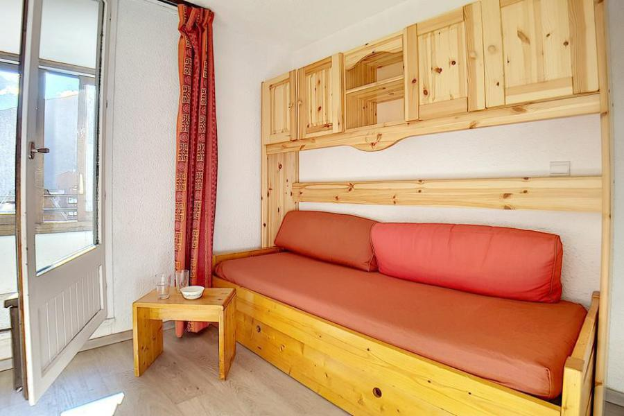 Holiday in mountain resort Studio cabin 4 people (224) - La Résidence le Sorbier - Les Menuires - Bench seat