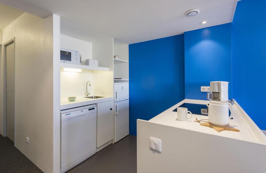 Vakantie in de bergen Appartement 3 kamers 8 personen (612) - La Résidence le Thuria - Les Arcs - Keukenblok
