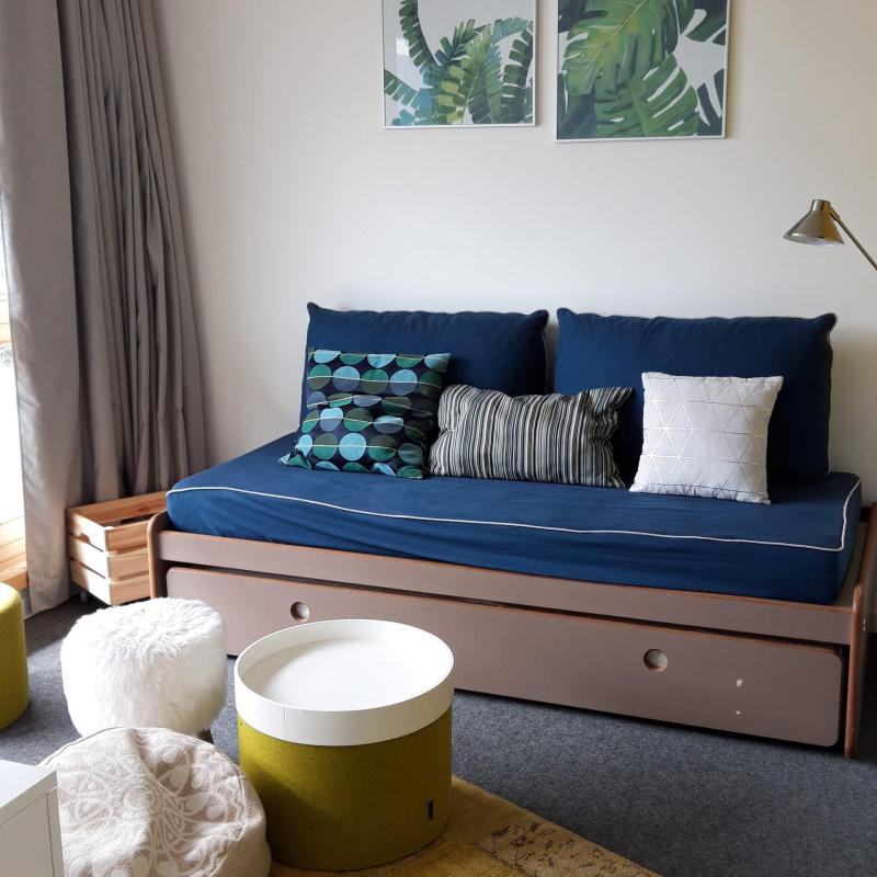 Vakantie in de bergen Appartement 3 kamers 8 personen (612) - La Résidence le Thuria - Les Arcs - Pull-out sofa