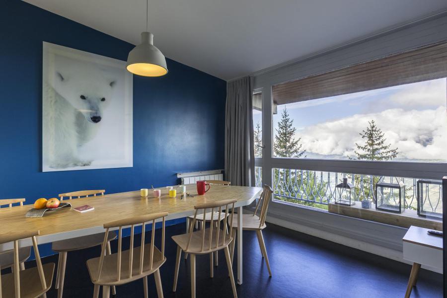 Vakantie in de bergen Appartement 3 kamers 8 personen (828) - La Résidence le Thuria - Les Arcs - Eetkamer