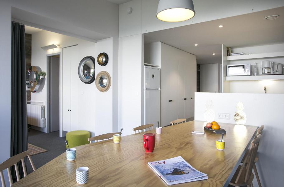 Vakantie in de bergen Appartement 3 kamers 8 personen (828) - La Résidence le Thuria - Les Arcs - Tafel