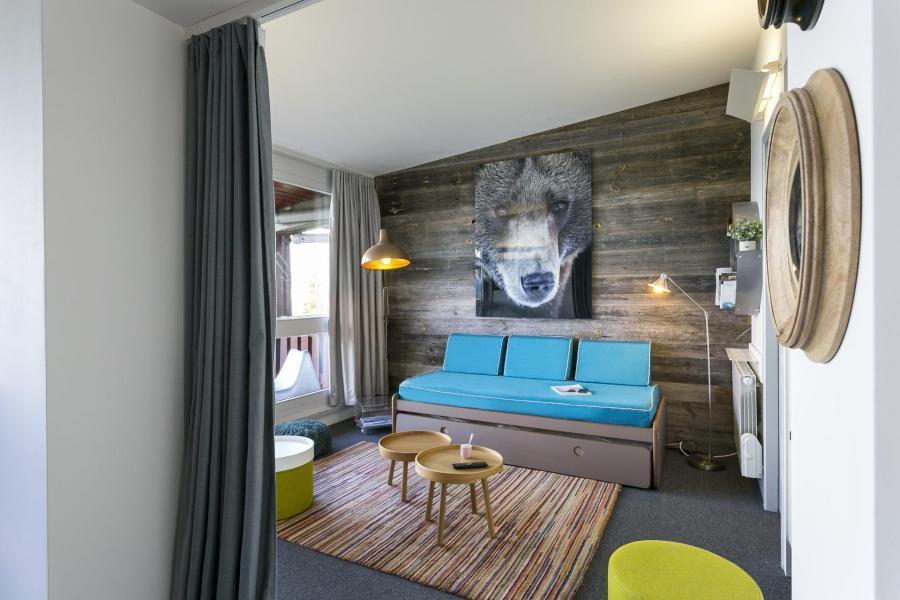 Vakantie in de bergen Appartement 3 kamers 8 personen (828) - La Résidence le Thuria - Les Arcs - Woonkamer
