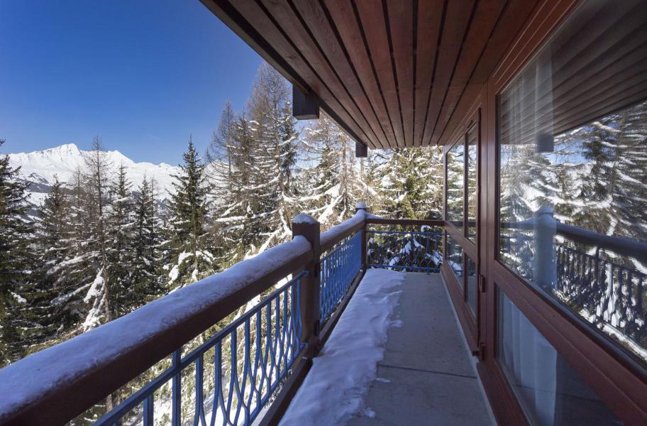 Vakantie in de bergen La Résidence le Thuria - Les Arcs - Balkon