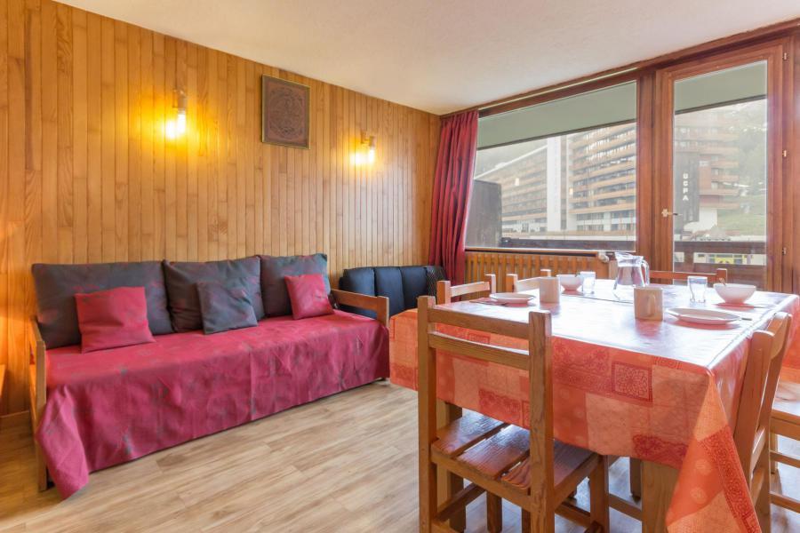 Vakantie in de bergen Appartement 3 kamers 7 personen (204) - La Résidence le Vercors - La Plagne - Woonkamer