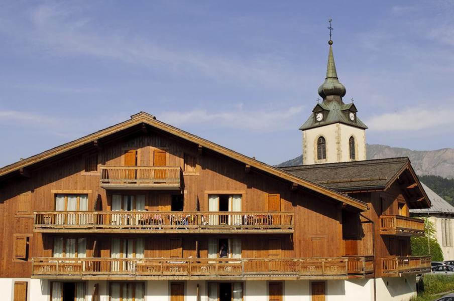 Skiverleih La Résidence le Village - Notre Dame de Bellecombe - Draußen im Sommer
