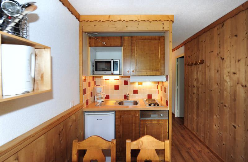 Vacaciones en montaña Apartamento cabina para 4 personas (0404) - La Résidence le Villaret - Les Menuires