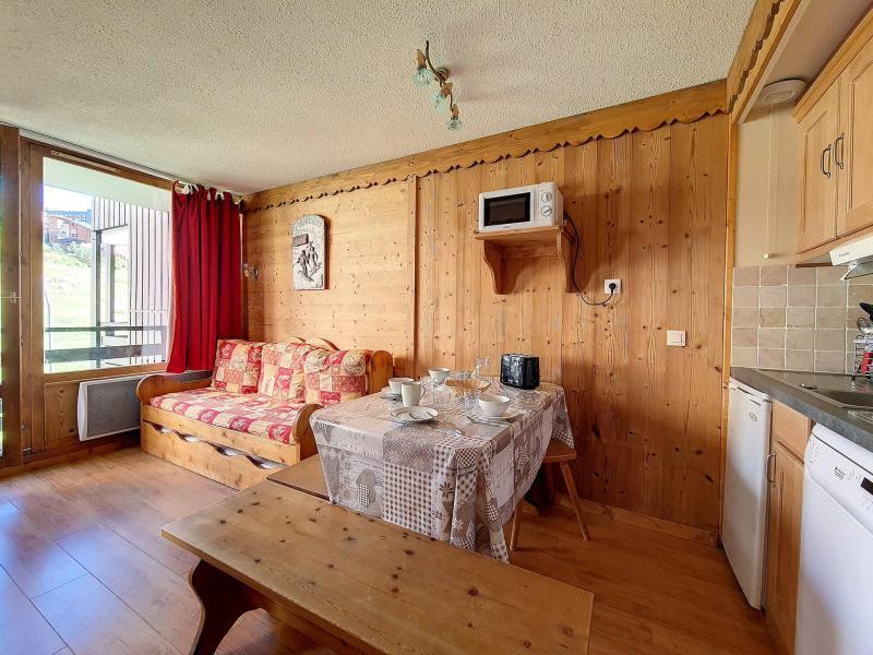 Vacaciones en montaña Apartamento 2 piezas para 4 personas (421) - La Résidence le Villaret - Les Menuires