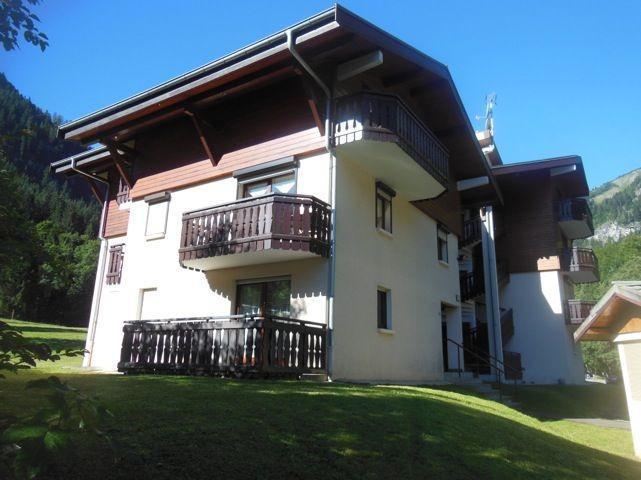 Location au ski Studio coin montagne 3 personnes - La Résidence les Avenières - Châtel - Extérieur été