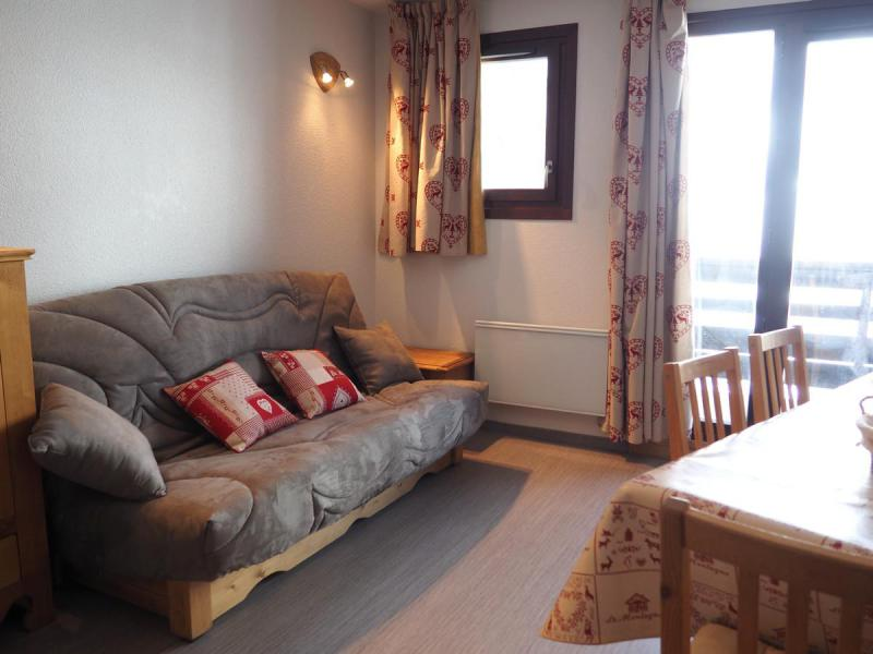 Urlaub in den Bergen 2-Zimmer-Holzhütte für 6 Personen (B1) - La Résidence les Balcons d'Olympie - Les Menuires - Sofa