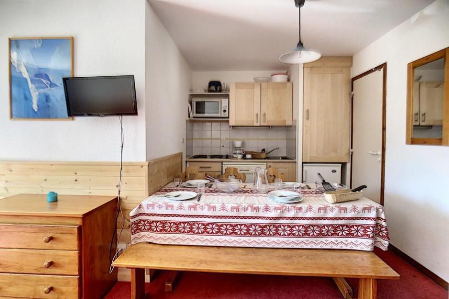 Urlaub in den Bergen 2-Zimmer-Holzhütte für 6 Personen (320) - La Résidence les Balcons d'Olympie - Les Menuires