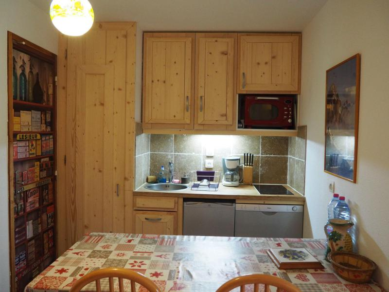 Urlaub in den Bergen 3-Zimmer-Holzhütte für 6 Personen (60) - La Résidence les Balcons d'Olympie - Les Menuires