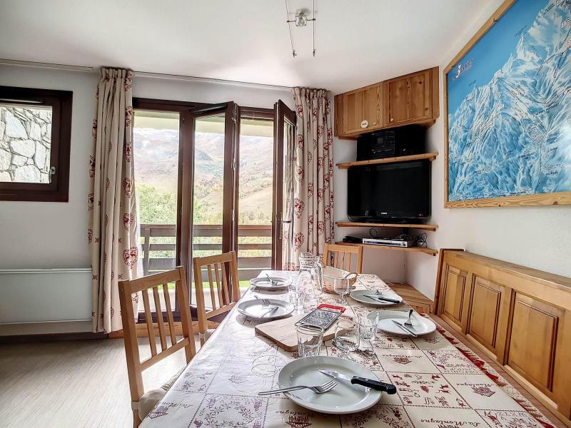 Urlaub in den Bergen 2-Zimmer-Holzhütte für 6 Personen (B1) - La Résidence les Balcons d'Olympie - Les Menuires