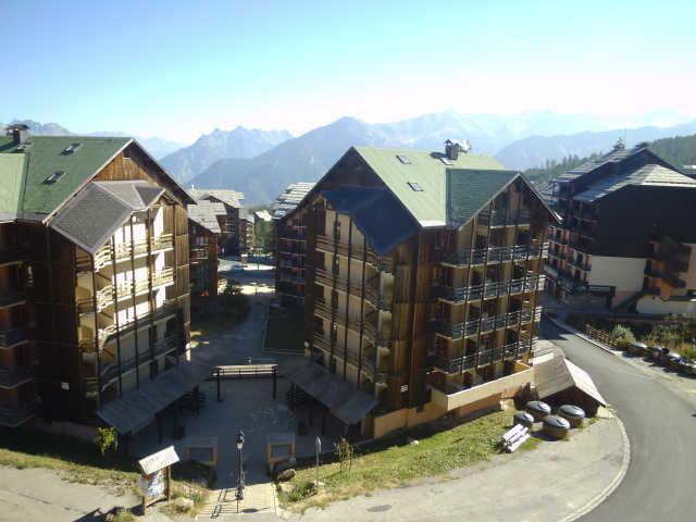 Vacaciones en montaña Apartamento cabina 3 piezas para 8 personas (407) - La Résidence les Balcons de Sirius - Risoul - Verano