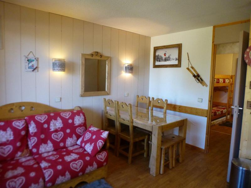 Urlaub in den Bergen 2-Zimmer-Berghütte für 4 Personen (339) - La Résidence les Brigues - Courchevel - Tisch