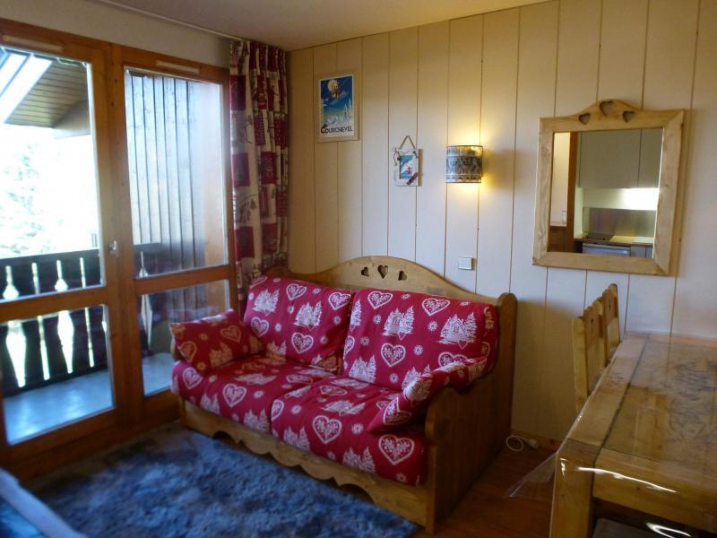 Urlaub in den Bergen 2-Zimmer-Berghütte für 4 Personen (339) - La Résidence les Brigues - Courchevel - Wohnzimmer