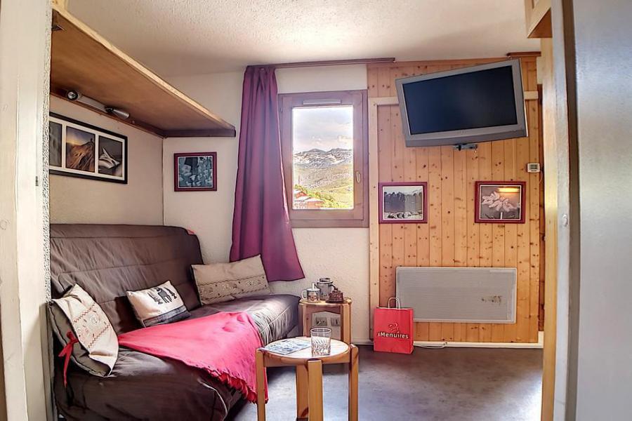 Holiday in mountain resort Studio sleeping corner 4 people (009) - La Résidence les Carlines - Les Menuires