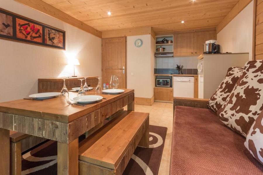 Holiday in mountain resort 3 room apartment 6 people (A5BIS) - La Résidence les Chalets de Wengen - Montchavin - La Plagne - Table
