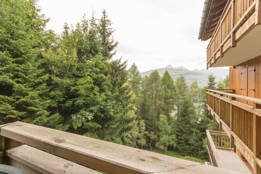 Holiday in mountain resort 3 room apartment 6 people (A5BIS) - La Résidence les Chalets de Wengen - Montchavin - La Plagne - Summer outside