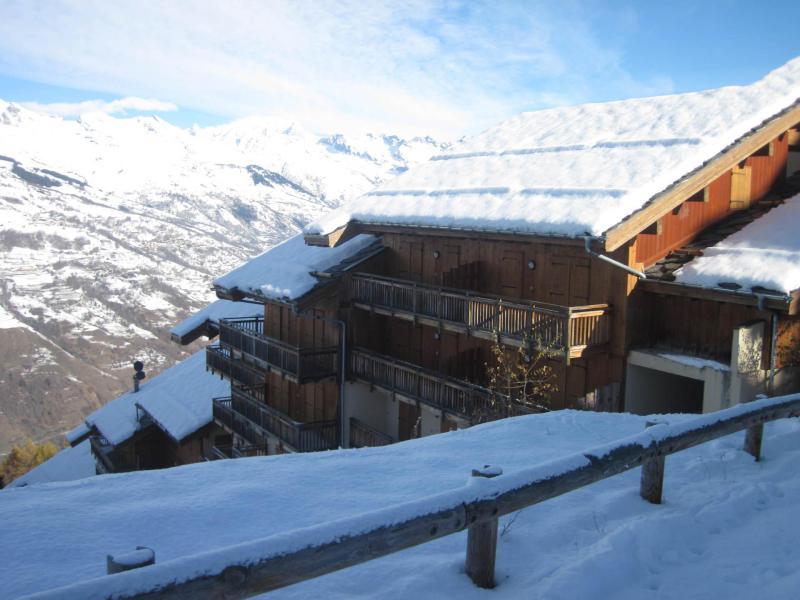 Vakantie in de bergen La Résidence les Chalets de Wengen - Montchavin La Plagne