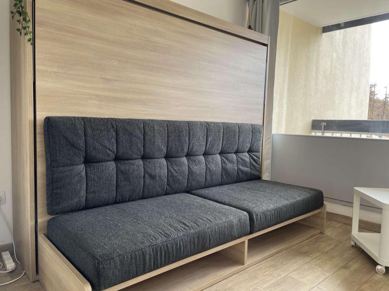 Holiday in mountain resort Studio sleeping corner 4 people (GRO115) - La Résidence les Chalmettes - Montgenèvre