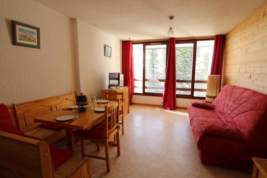 Holiday in mountain resort Studio sleeping corner 4 people (SPO120) - La Résidence les Chalmettes - Montgenèvre