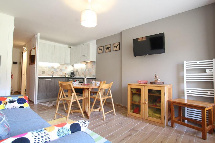 Holiday in mountain resort Studio sleeping corner 4 people (CHAL314) - La Résidence les Chalmettes - Montgenèvre