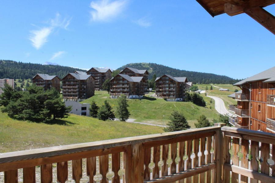 Rent in ski resort 2 room apartment sleeping corner 6 people (CE57) - La Résidence les Chaumettes - Superdévoluy - Summer outside