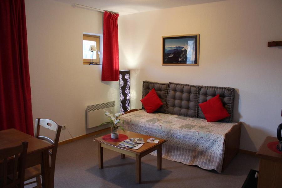 Vacaciones en montaña Apartamento 2 piezas para 6 personas (CE31) - La Résidence les Chaumettes - Superdévoluy - Sofá-cama