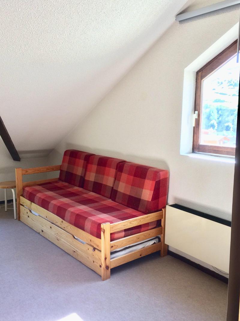 Wakacje w górach Studio z alkową 4 osoby (0502) - La Résidence Les Colchiques - Vars - Rozkładaną sofą