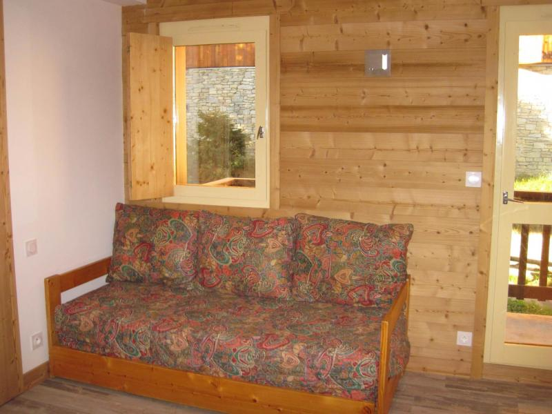 Holiday in mountain resort 2 room apartment 5 people (CSD6) - La Résidence les Côtes - Montchavin - La Plagne - Bed-settee